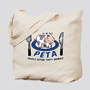 People Eating Tasty Animals Tote Bag