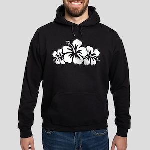 Hawaiian Flower Hoodie (dark)