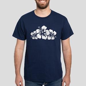 Hawaiian Flower Dark T-Shirt