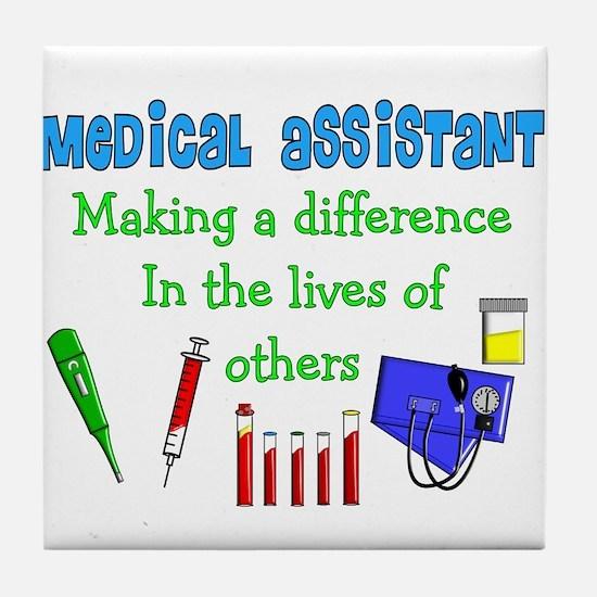 Medical Assistant Tile Coaster