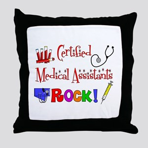 Medical Assistant Throw Pillow