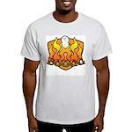 Burning Boogg Ash Grey T-Shirt