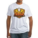 Burning Boogg Fitted T-Shirt