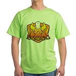Burning Boogg Green T-Shirt