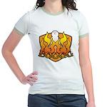 Burning Boogg Jr. Ringer T-Shirt