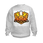 Burning Boogg Kids Sweatshirt