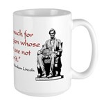 Cat & Dog Large Mug
