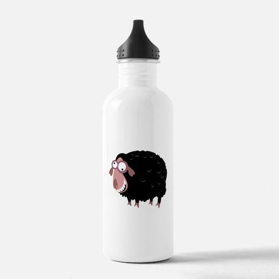 Loony Black Sheep Water Bottle