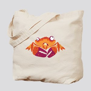 Loony Crab Tote Bag
