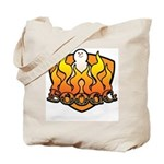 Burning Boogg Tote Bag