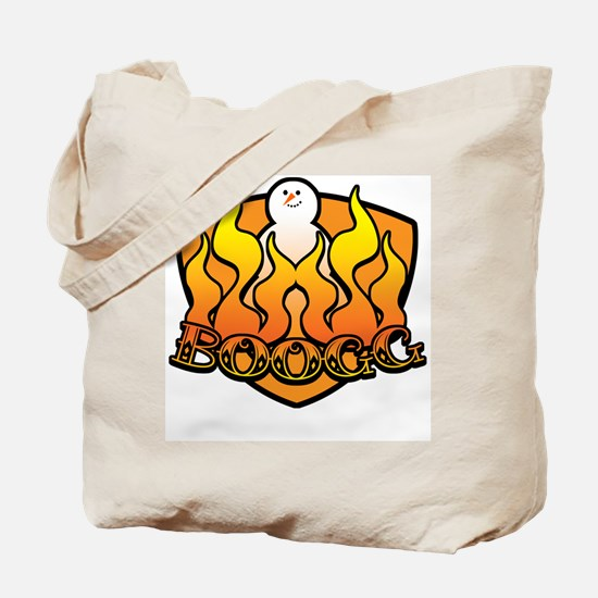 Burning Boogg Tote Bag