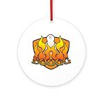 Burning Boogg Ornament (Round)