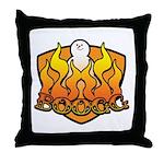 Burning Boogg Throw Pillow