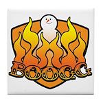 Burning Boogg Tile Coaster