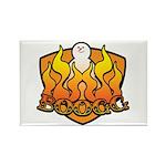 Burning Boogg Rectangle Magnet