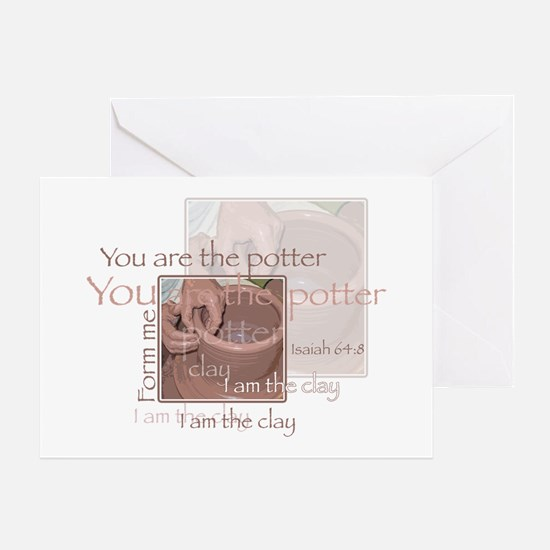 The Potter Greeting Card
