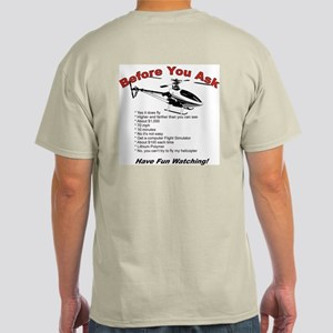 Before You Ask Light T-Shirt
