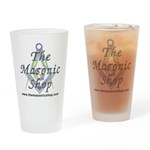 The Masonic Shop Logo Drinking Glass