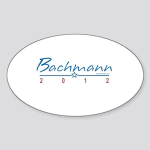 Bachmann 2010 Sticker (Oval)