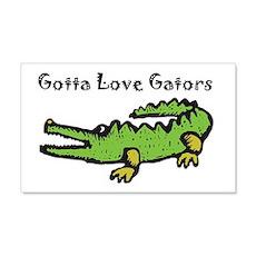 Gotta Love Gators 22x14 Wall Peel