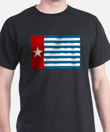 West Papuan Morning Star Flag Papua T-Shirt