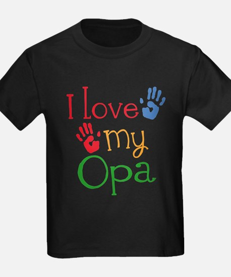 I Love Opa T-Shirt