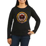 Kosovo Veteran Women's Long Sleeve Dark T-Shirt