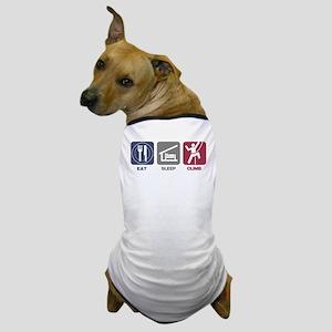 Eat Sleep Climb - Picto Dog T-Shirt