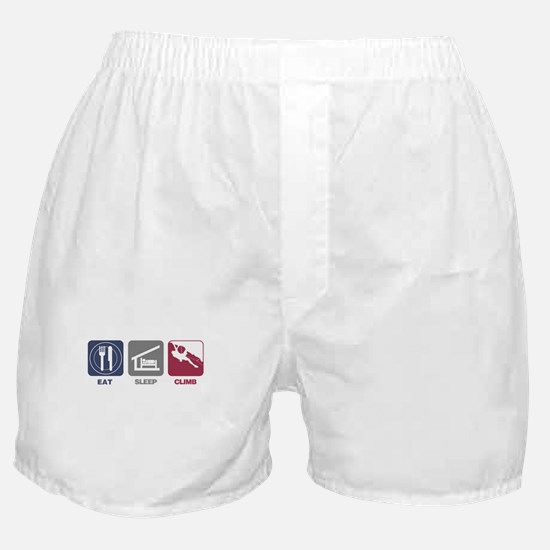 Eat Sleep Climb - Man Boxer Shorts