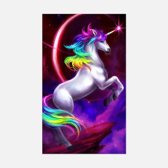 Unicorn Dream Sticker (Rectangle)