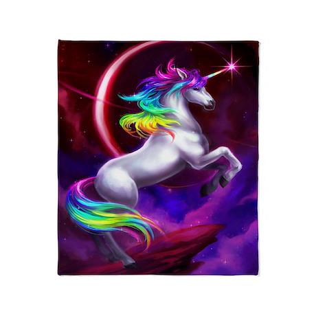 Unicorn Dream Throw Blanket