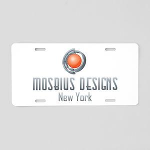 Mosbius Designs Aluminum License Plate