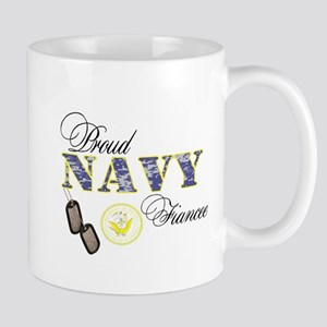 Proud Navy Fiancee Mug