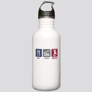 Eat Sleep Soccer - Woman Stainless Water Bottle 1.