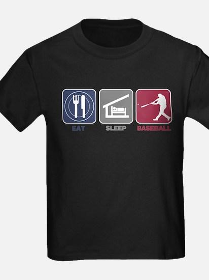 Eat Sleep Baseball T