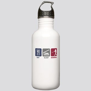Eat Sleep Baseball Stainless Water Bottle 1.0L