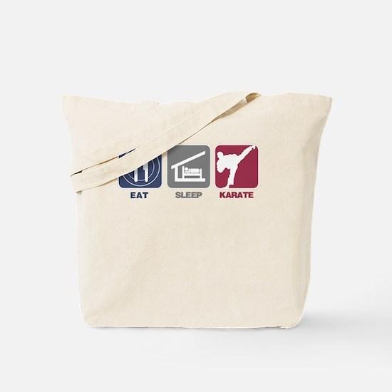Eat Sleep Men's Karate Tote Bag