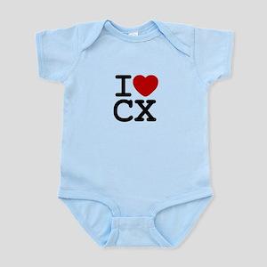 I Heart Cyclocross Infant Bodysuit