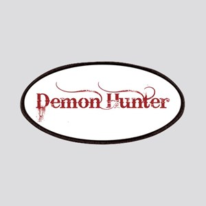 Demon Hunter dark red Patches