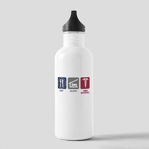 Eat Sleep Med-School Stainless Water Bottle 1.0L