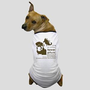 Vertical Logo Clothing Dog T-Shirt