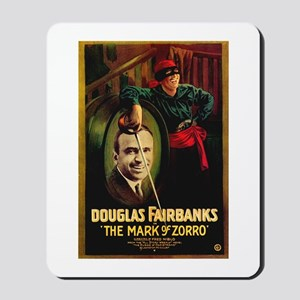 The Mark Of Zorro Mousepad