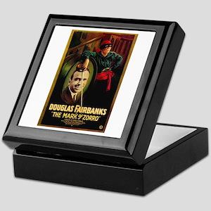 The Mark Of Zorro Keepsake Box