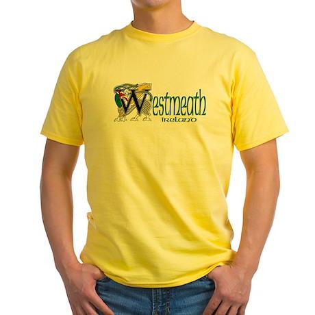 County Westmeath Yellow T-Shirt