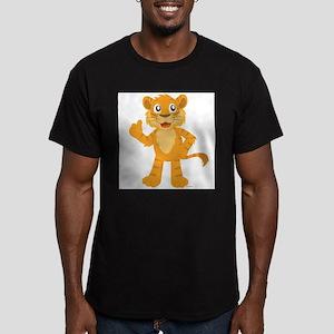 Liger Men's Fitted T-Shirt (dark)