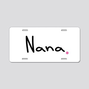 Just Nana Aluminum License Plate
