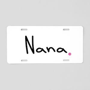 Just Nana Aluminum License Plate