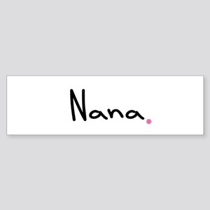 Just Nana Sticker (Bumper)