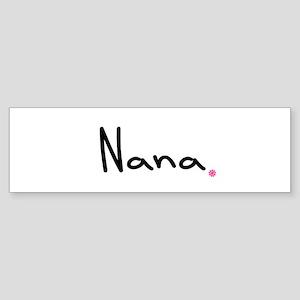 Just Nana Sticker (Bumper)