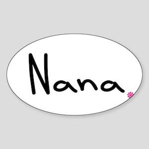 Just Nana Sticker (Oval)